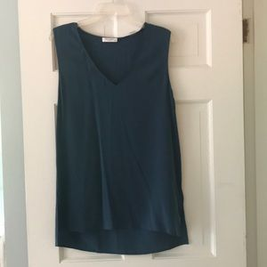 Teal Tunic by Equipment.
